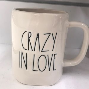 Rae Dunn crazy in love mug